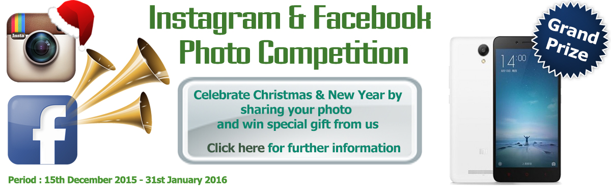 Instagram and Facebook Photo Contest